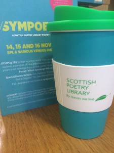 Sympoetry at the Scottish Poetry Library